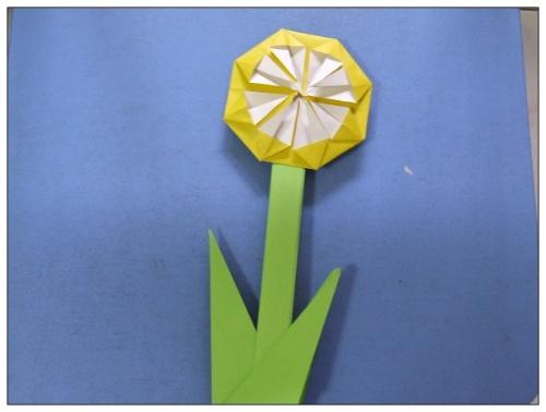 太阳花花朵折纸大全 步骤