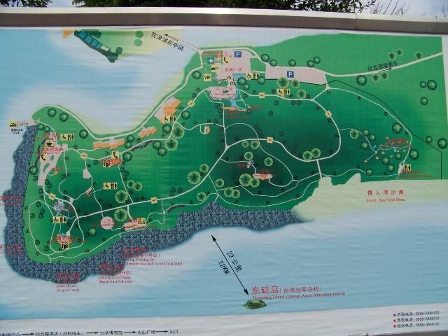 香山景区导游图