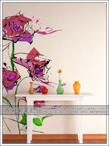 济南家美墙面彩绘|墙体彩绘|手绘墙|墙绘公司友情提示:儿童房装修工序