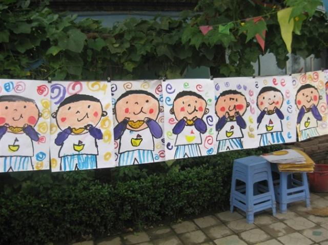 幼儿水粉画教学活动课型说明