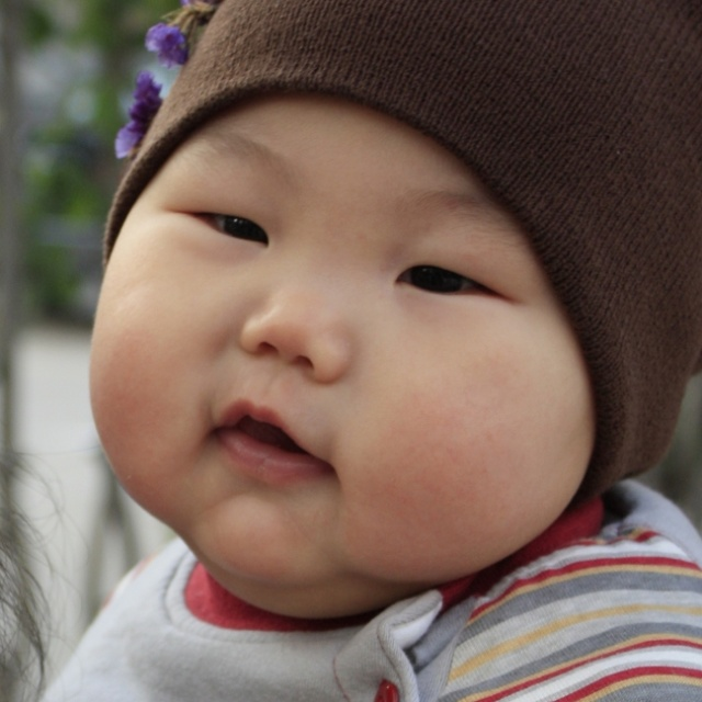 胖小孩可爱照片