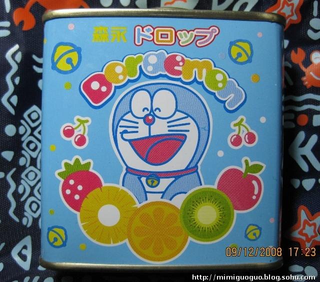 晒晒收藏的糖果盒子