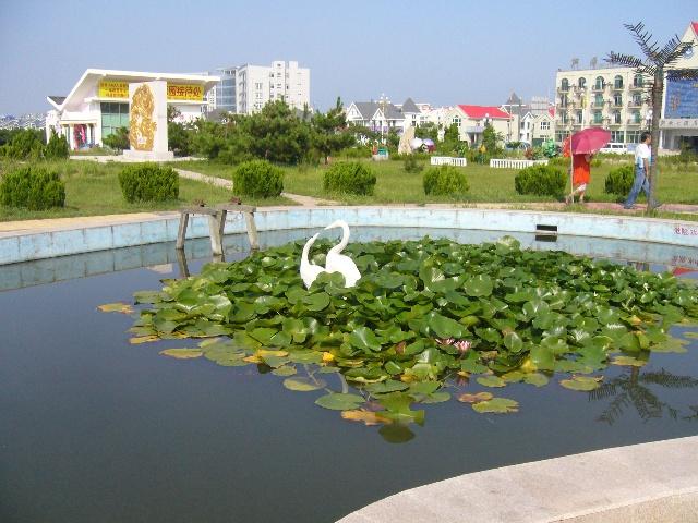 图片中有阎维文,宋祖英演唱图片),福如东海公园,购物休闲广场公园