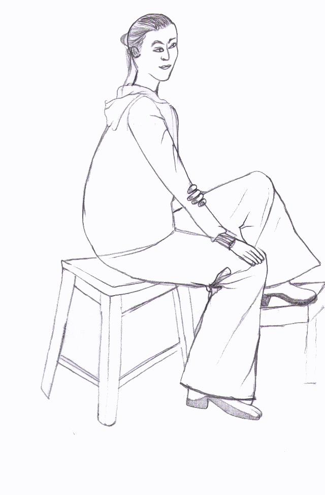 线描及人物速写