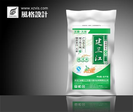 徐州天泰大米包装袋设计