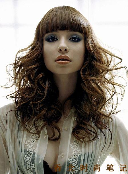 盘发2009国小女孩发型设计际发型流行六大主题趋势图片