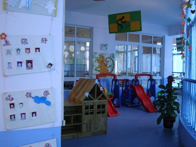 幼儿园区域格局布置