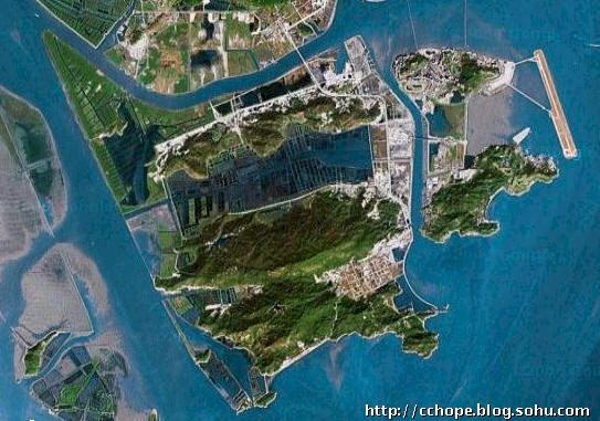珠海横琴岛地形图