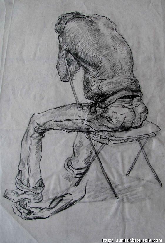 我的部分绘画作品 图>(素描,色彩,速写,中国画,装饰画