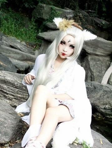 贝coser 我家有个狐仙大人 之唯美狐仙