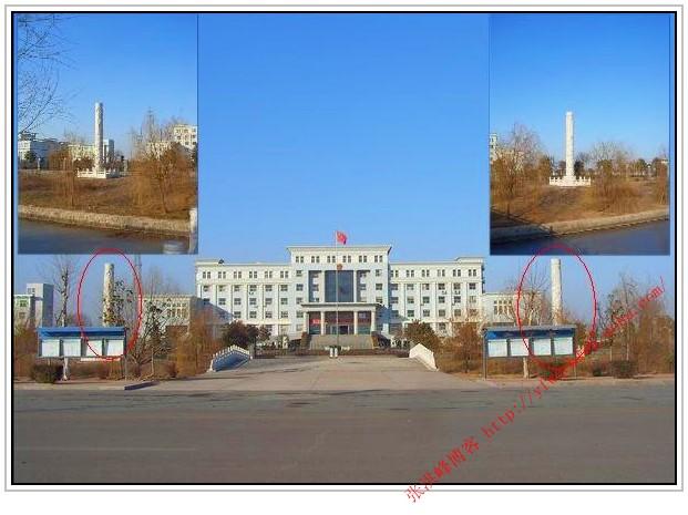 """现在,张宜春部长的迷信摆设依然""""屹立""""在海头镇,班庄镇党委大院!"""