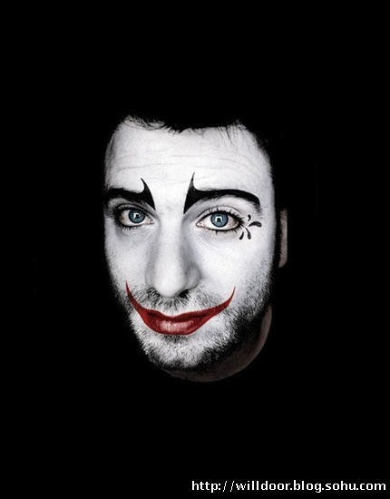 小丑头像 哭泣 男生