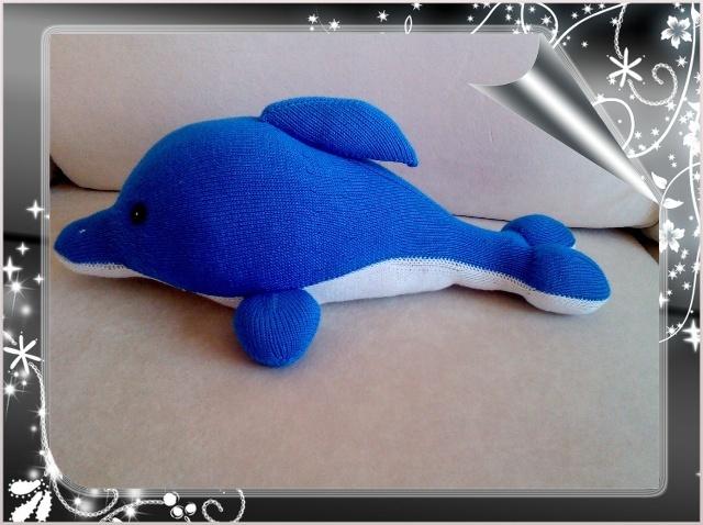 【棒针】海豚  甜毯(图1) 海豚  甜毯  求一些纯手工毛线编织填充海豚