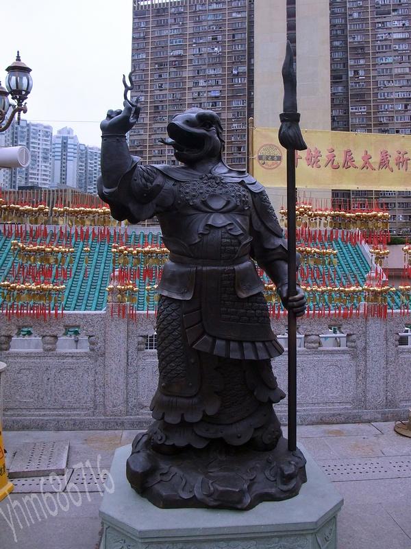 游香港黄大仙庙