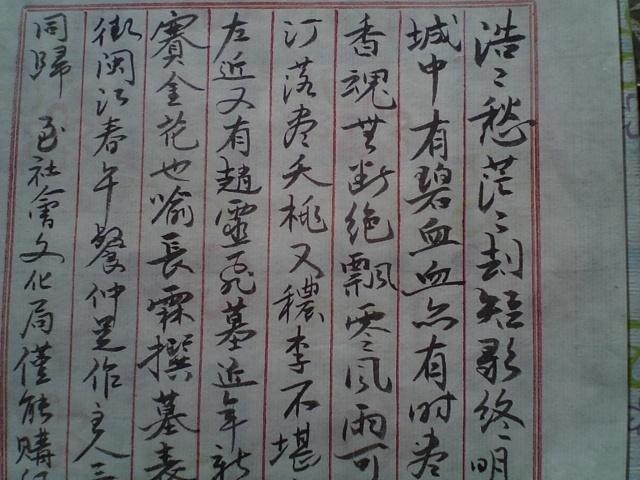 书法·临沙孟海先生小楷日记手稿(局部)