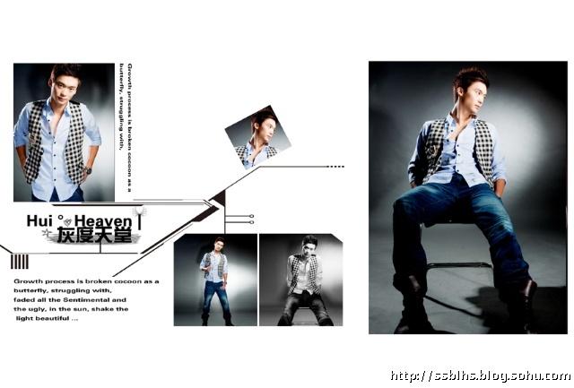 男士艺术照pose