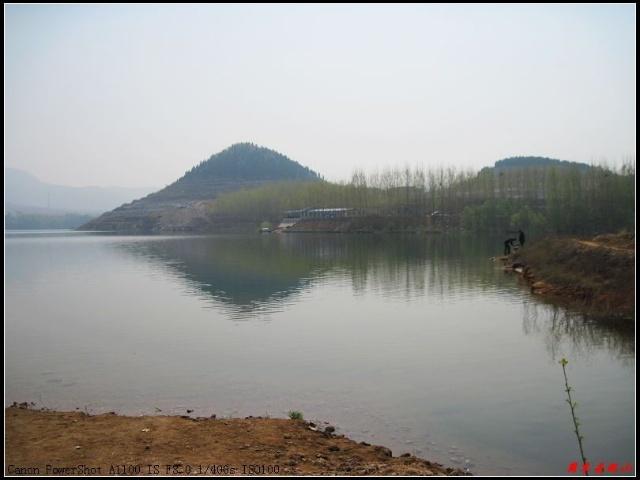 游长清五峰山景区钓鱼台景点