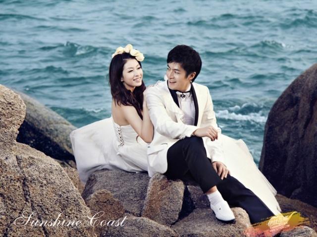 夏季在玫瑰海岸拍海边婚纱照注意事项,深圳宝安龙华观澜伊丝蒂娜分享