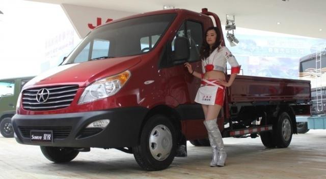 【图】江淮 康铃轻卡 76马力 4X2 载货车(朝柴-江淮好运轻卡双排,高清图片