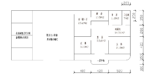 为农村老家设计的住房平面图