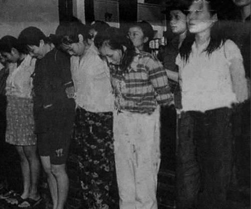 83年严打女犯人照片图片
